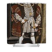 Portrait Of Henry Viii Shower Curtain