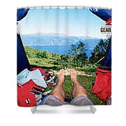 Camping Furniture Shower Curtain