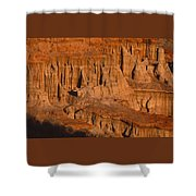 Red Cliffs  Shower Curtain