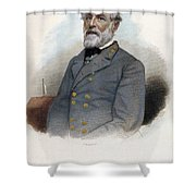 Robert E. Lee (1807-1870) Shower Curtain by Granger