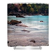 Rocky Seashore Shower Curtain