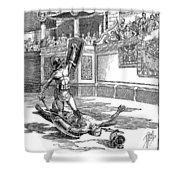 Roman Gladiators Shower Curtain