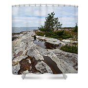 Sammo Island Shower Curtain
