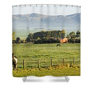 Scottish Scenery Shower Curtain
