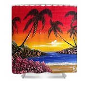 Seescape  Shower Curtain