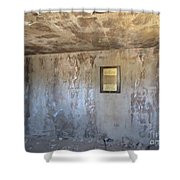 Show Low Jail Shower Curtain