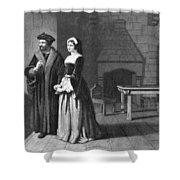 Sir Thomas More (1478-1535) Shower Curtain