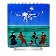 Sons Of The Sun Shower Curtain