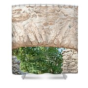 Spanish Chapel At Oxtankah Shower Curtain
