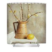 Spring Still Life Shower Curtain