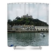 St Michael's Mount Cornwall Shower Curtain