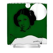 Star Wars Princess Leia Collection Shower Curtain