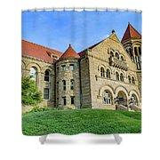 Stewart Hall At West Virginia University Shower Curtain
