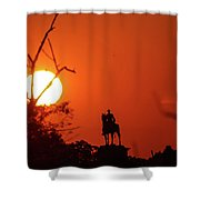 Sunrise At Gettysburg Shower Curtain