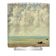 The Calm Sea Shower Curtain