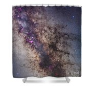 The Center Of The Milky Way Shower Curtain