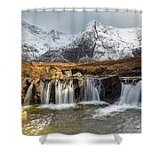The Fairy Pools, Isle Of Skye Shower Curtain