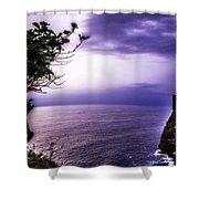 Uluwatu Temple Shower Curtain