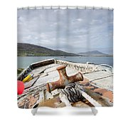 Vatersay Shower Curtain
