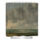 View Of Haarlem And The Haarlemmer Meer Shower Curtain