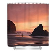 View Of Oregon Shower Curtain