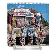 Village Of Coba Shower Curtain