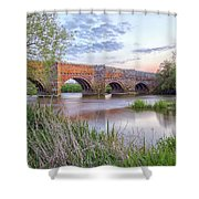 White Mill - England Shower Curtain