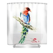 Wild Bird 5 Shower Curtain