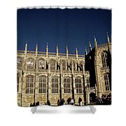 Windsor Castle England United Kingdom Uk Shower Curtain