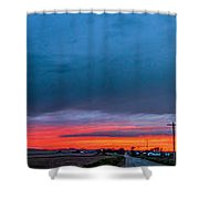 7th Storm Chase 2015 Shower Curtain