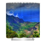 Living Landscape Shower Curtain