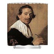 50chambr Frans Hals Shower Curtain