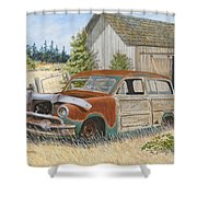 '51 Country Squire Shower Curtain