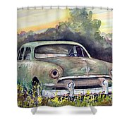 51 Ford Shower Curtain
