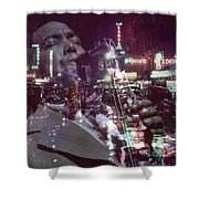 52nd Street Bird Shower Curtain