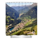 Paint Landscapes Shower Curtain