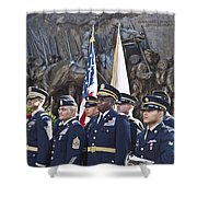 54th Regiment Bos2015_183 Shower Curtain