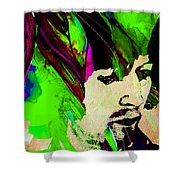 Eric Clapton Collection Shower Curtain