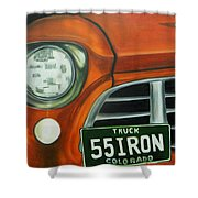 55 Iron Shower Curtain