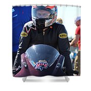 Man Cup 08 2016 By Jt Shower Curtain