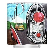 56 Chevy Reflections Shower Curtain