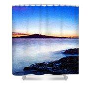 Landscape Definition Nature Shower Curtain