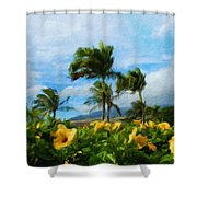 Nature New Landscape Shower Curtain
