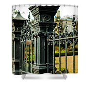 5603 St. Charles Ave Fence- Nola Shower Curtain