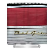 57 Chevy Bel Air Shower Curtain
