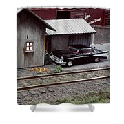 57 Chevy Shower Curtain