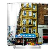 57 Market New York City Shower Curtain