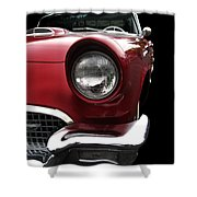 57 T-bird Shower Curtain