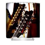 5796-001 Washburn - Guitar Shower Curtain