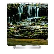 North Carolina Fall Colors Shower Curtain